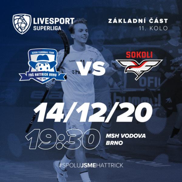 2 - 11. kolo: Sokoli Pardubice