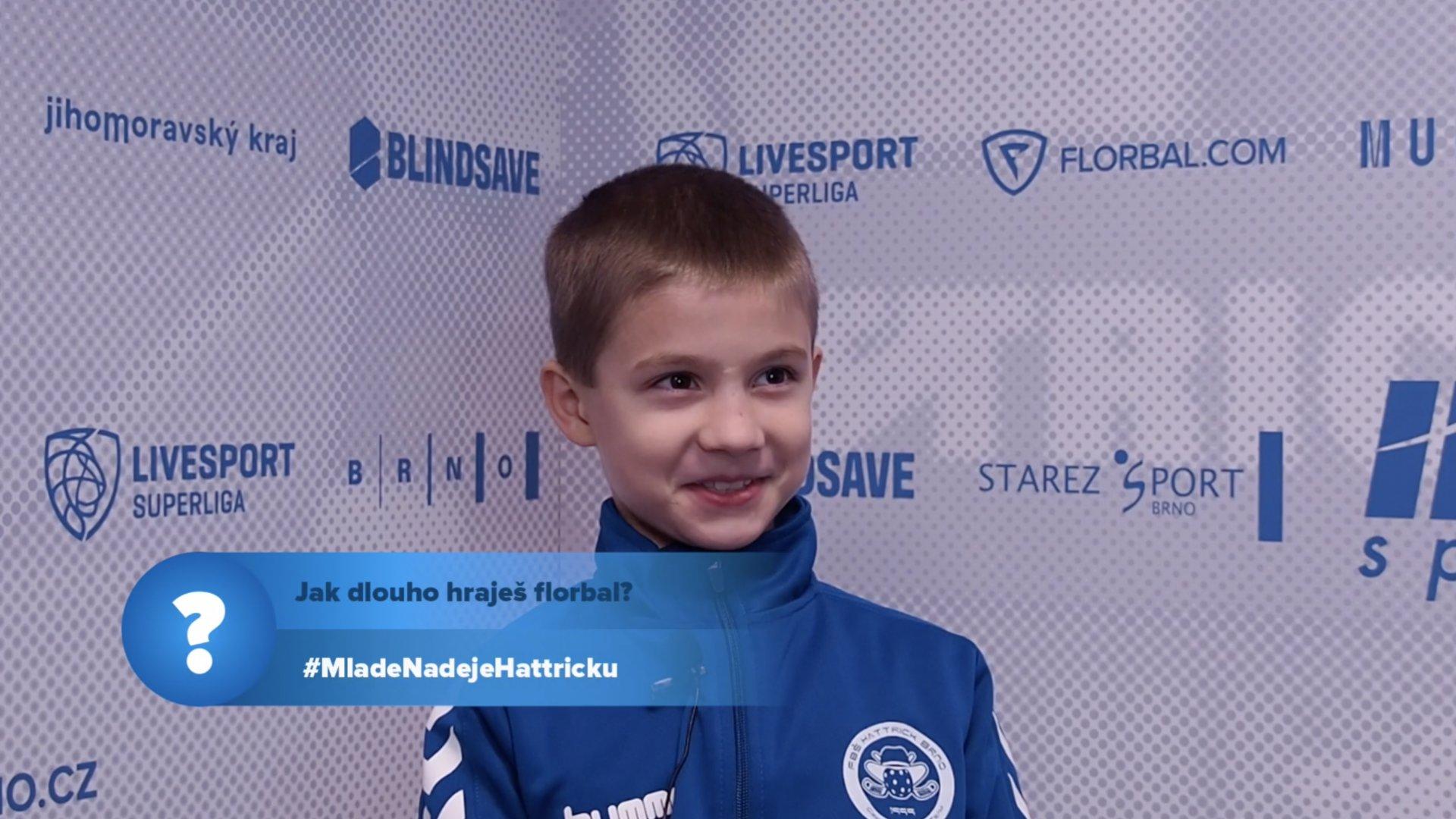 VIDEO: Jak dlouho už hrají florbal mladé naděje Hattricku?